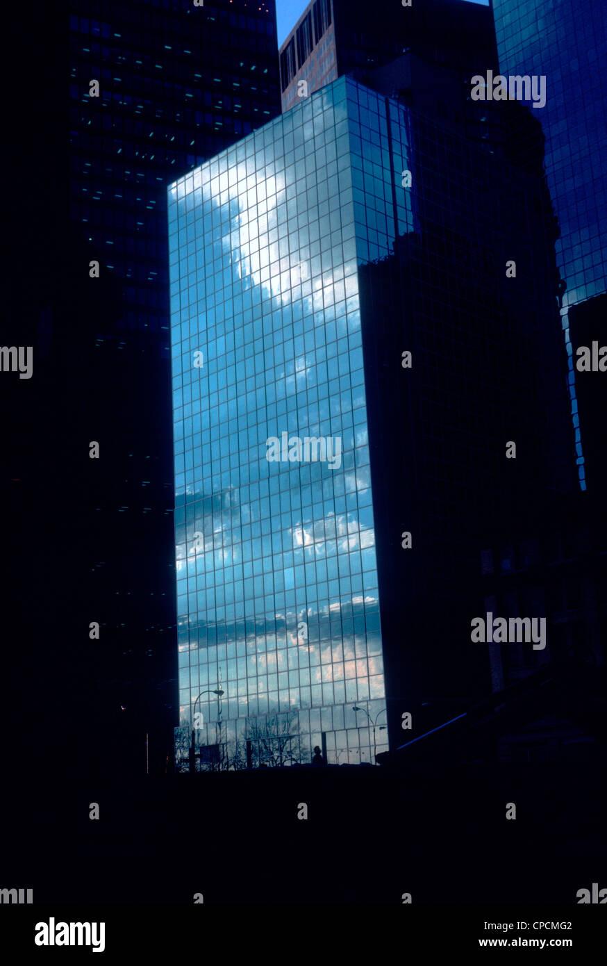 Nummer eins Whitehall Street in Lower Manhattan. (© Richard B. Levine) Stockbild