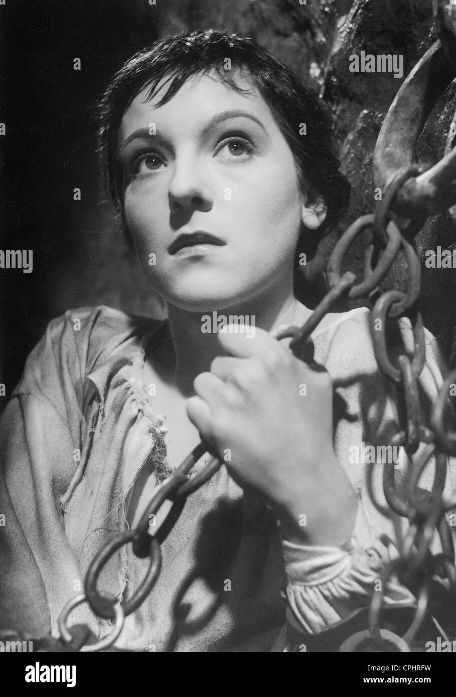 "Angela Salloker in ""Joan die Magd"", 1935 Stockbild"