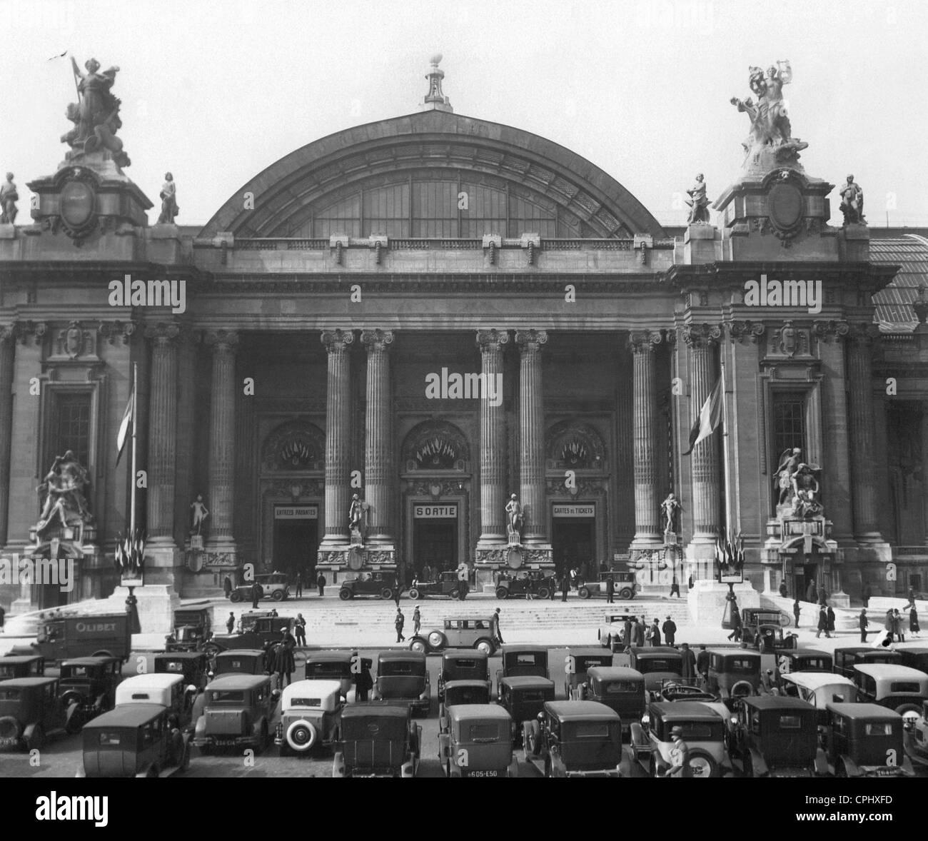 Motor Show im Grand Palais Stockbild