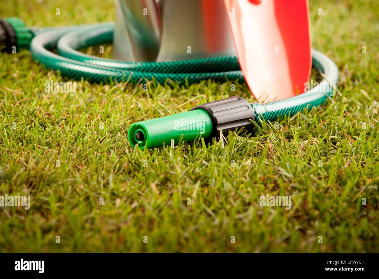 Gartenarbeit-Konzept Stockbild