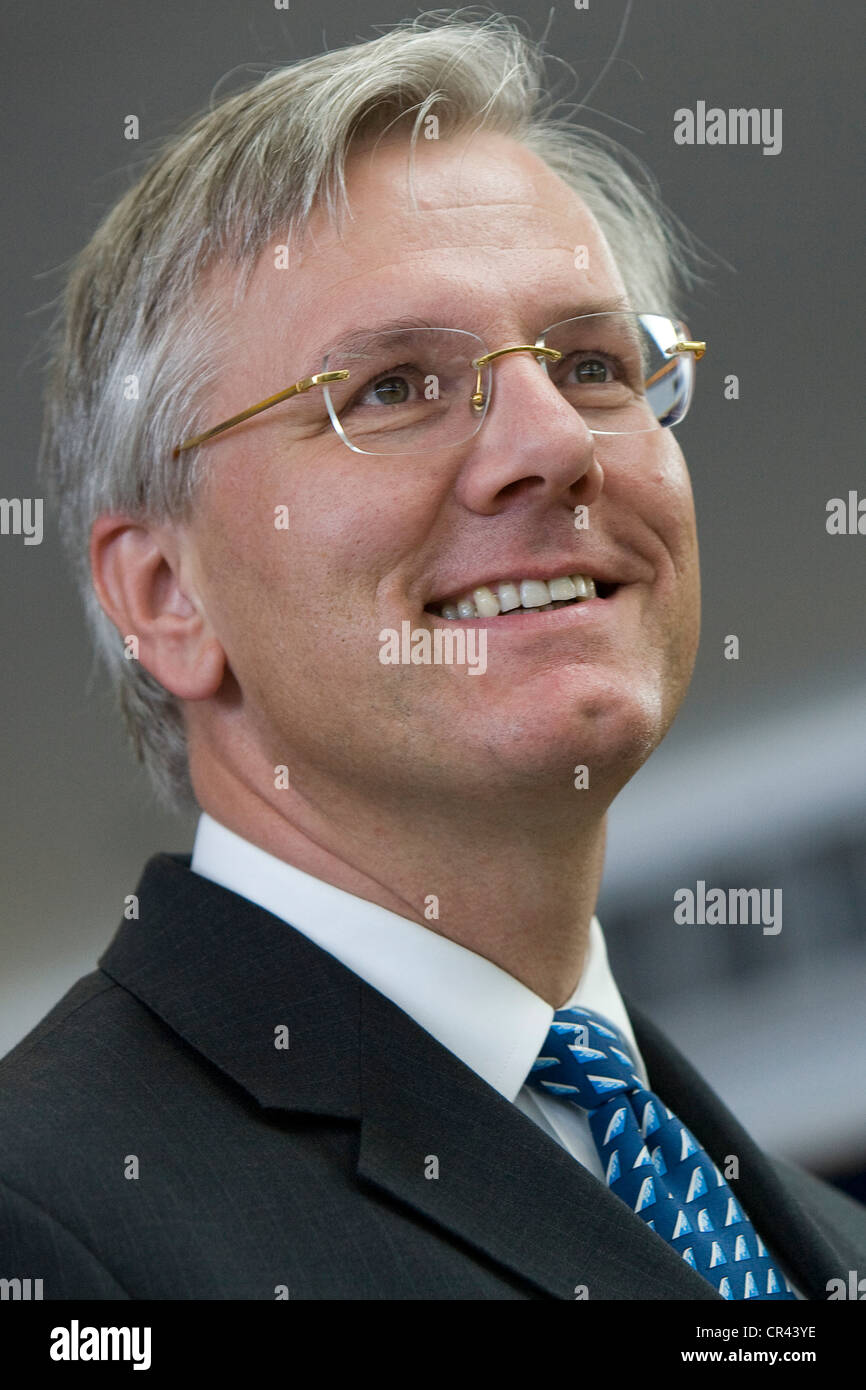 Christoph Franz, Vorsitzender und CEO der Deutschen Lufthansa AG Stockbild