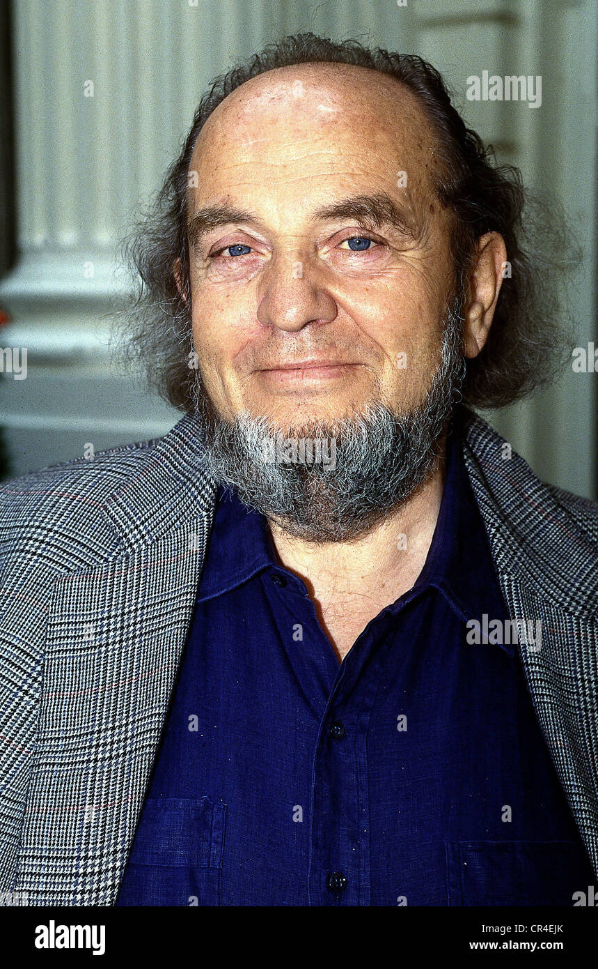 Ferreri, Marco, 11.5.1928 - 9.5.1997, italienischer Regisseur, Porträt, 1991, Bart, Stockbild