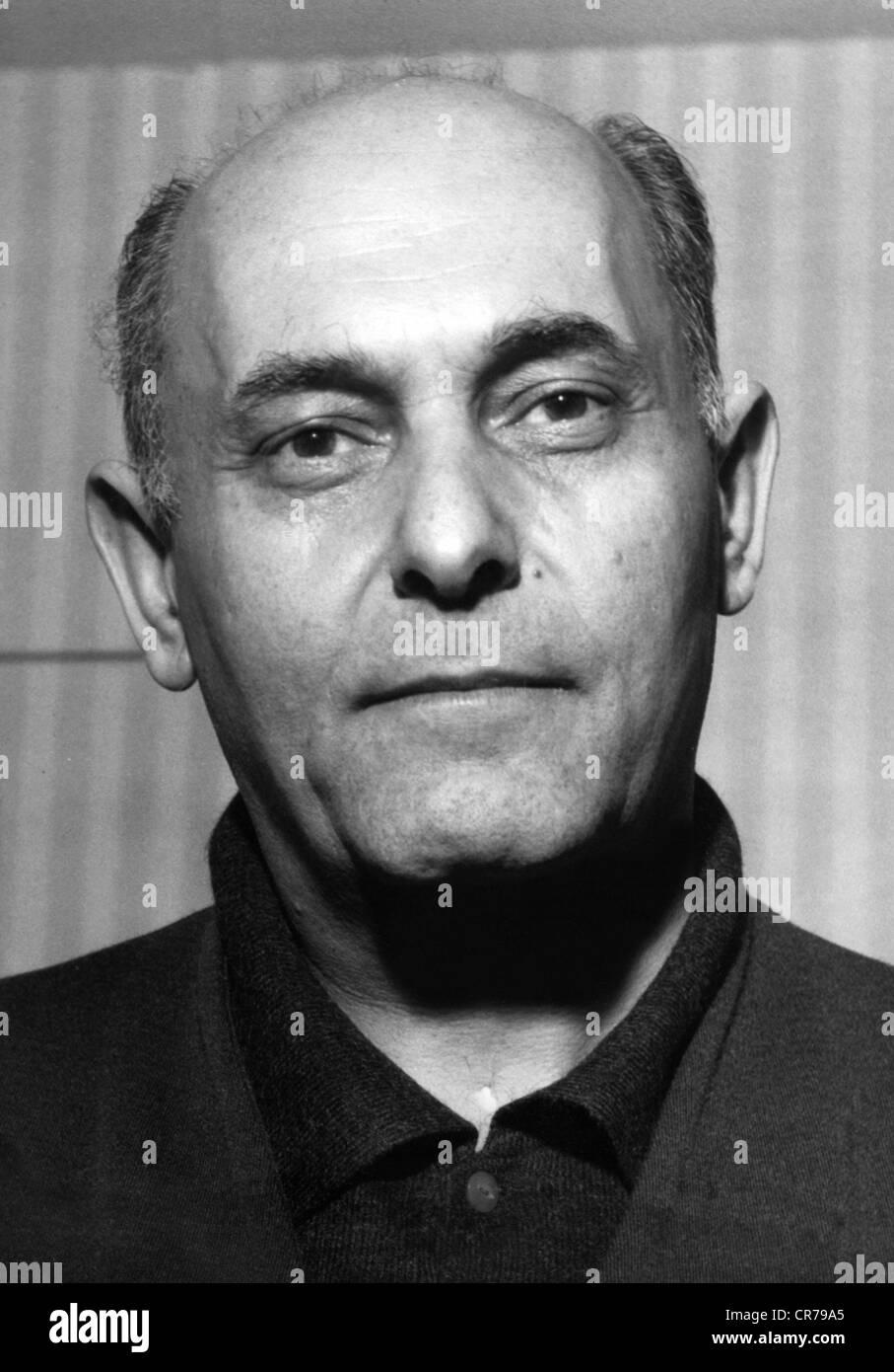Solti, Georg, 21.10.1912 - 5.9.1997, britischer Dirigent ungarischer Herkunft, Porträt, ca. 1960er Jahre, Musiker, Stockbild