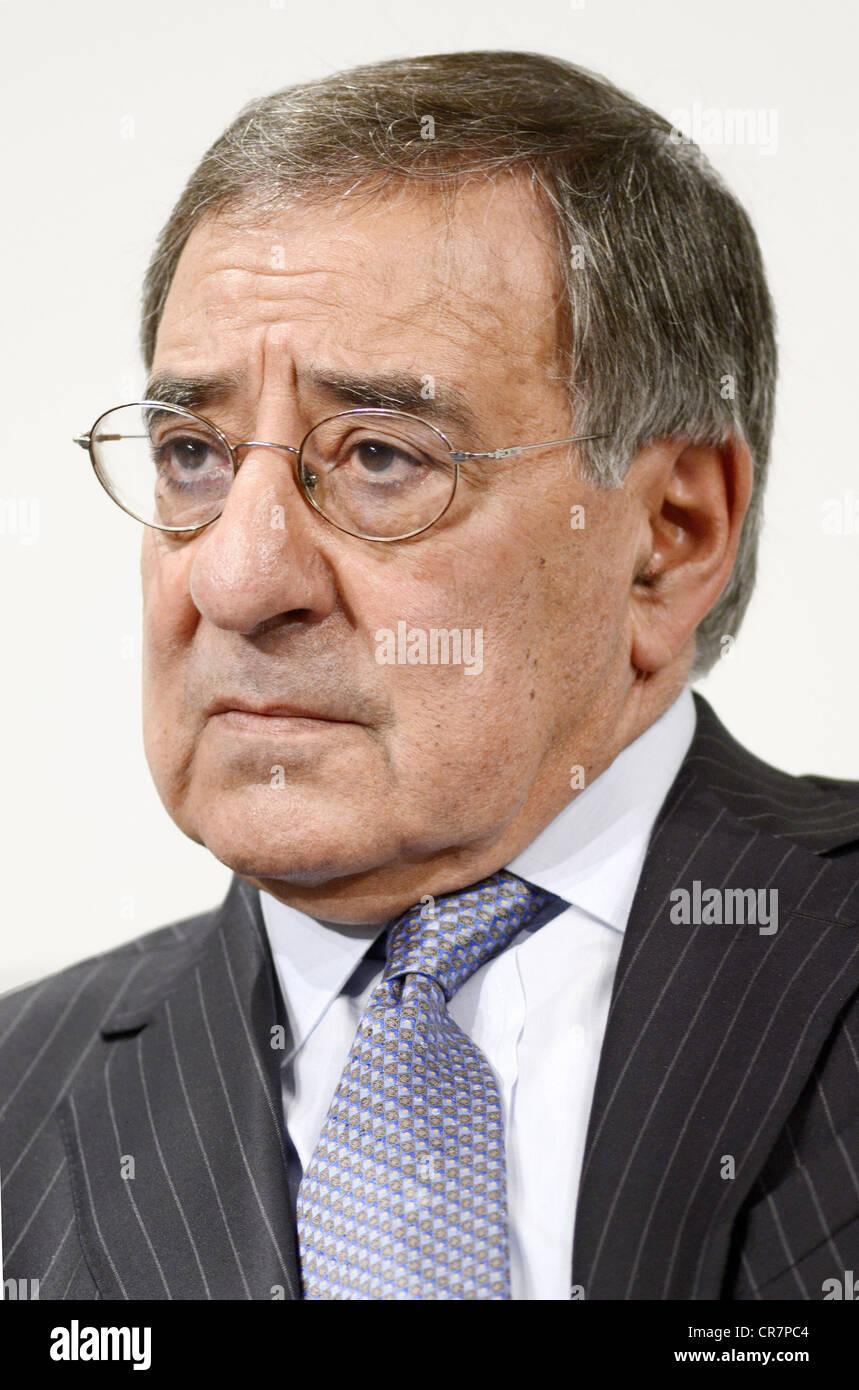 Panetta, Leon, * 28.6.1938, US-amerikanischer Politiker, (Demokrat), amerikanische Verteidigungsminister seit Juli Stockbild