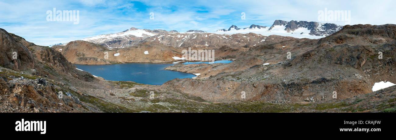 Ammassalik Halbinsel, Ostgrönland, Grönland Stockbild