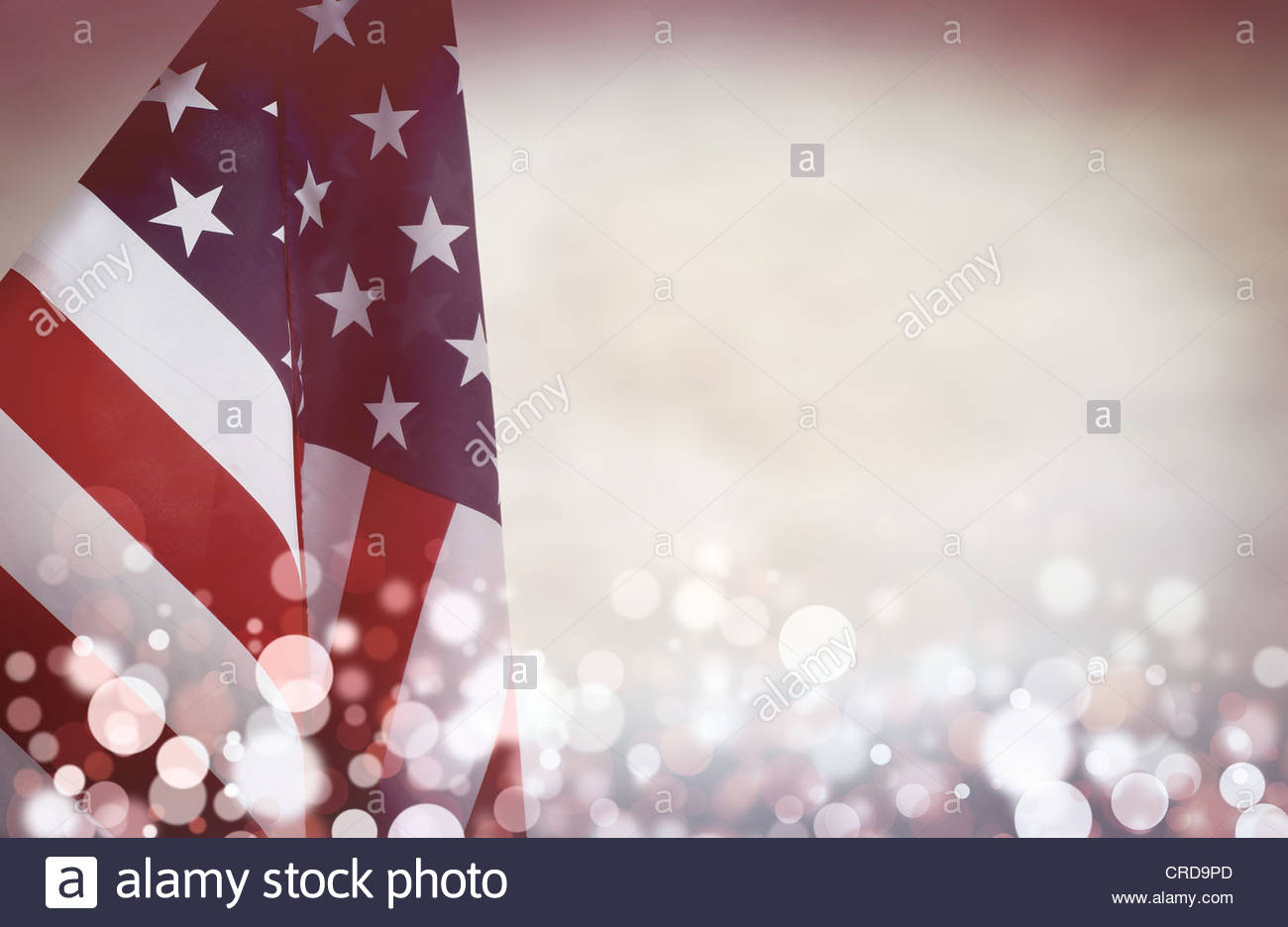 Retro-Amerika Stockbild