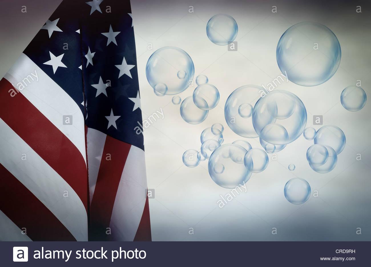 amerikanische Blase Stockbild