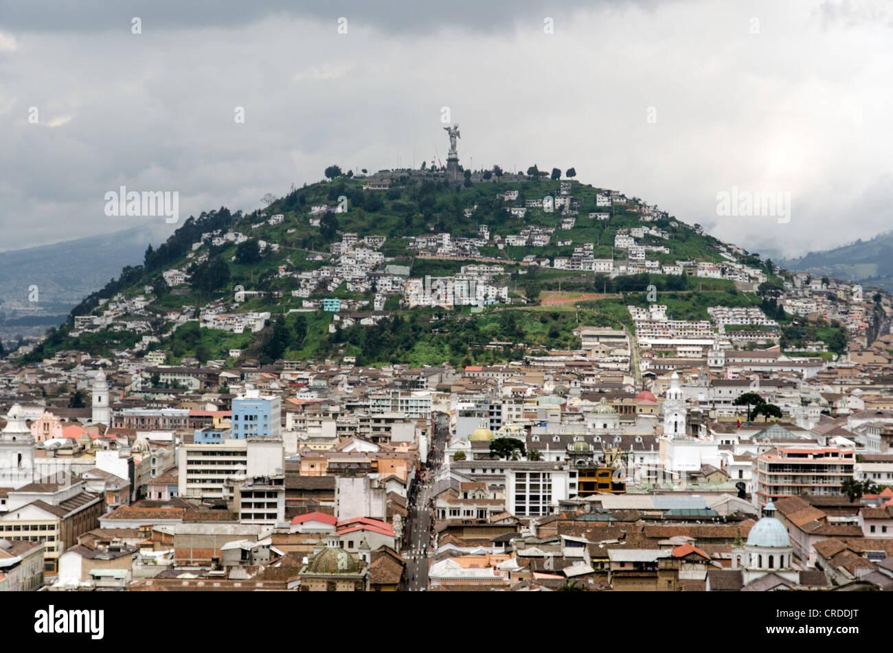Quito-Ecuador Stockbild