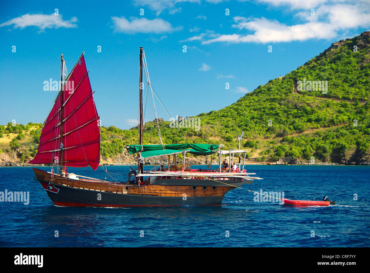 Trödel auf St. Barth, Franzoesische Antillen, Karibisches Meer, Saint-Barthelemy Stockbild