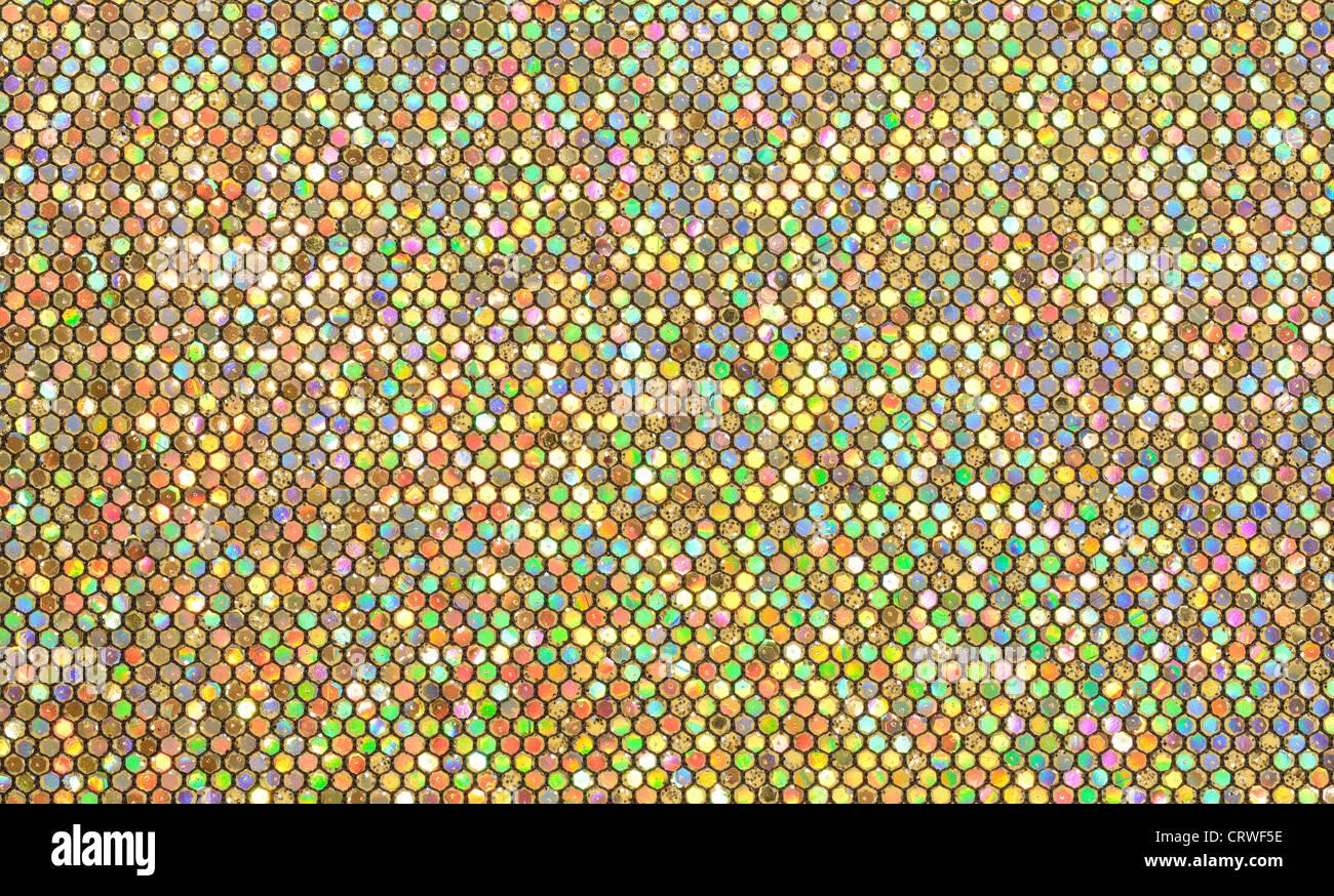 Gold abstraktes Muster Stockbild