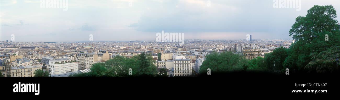 Paris-Panorama. Stockbild