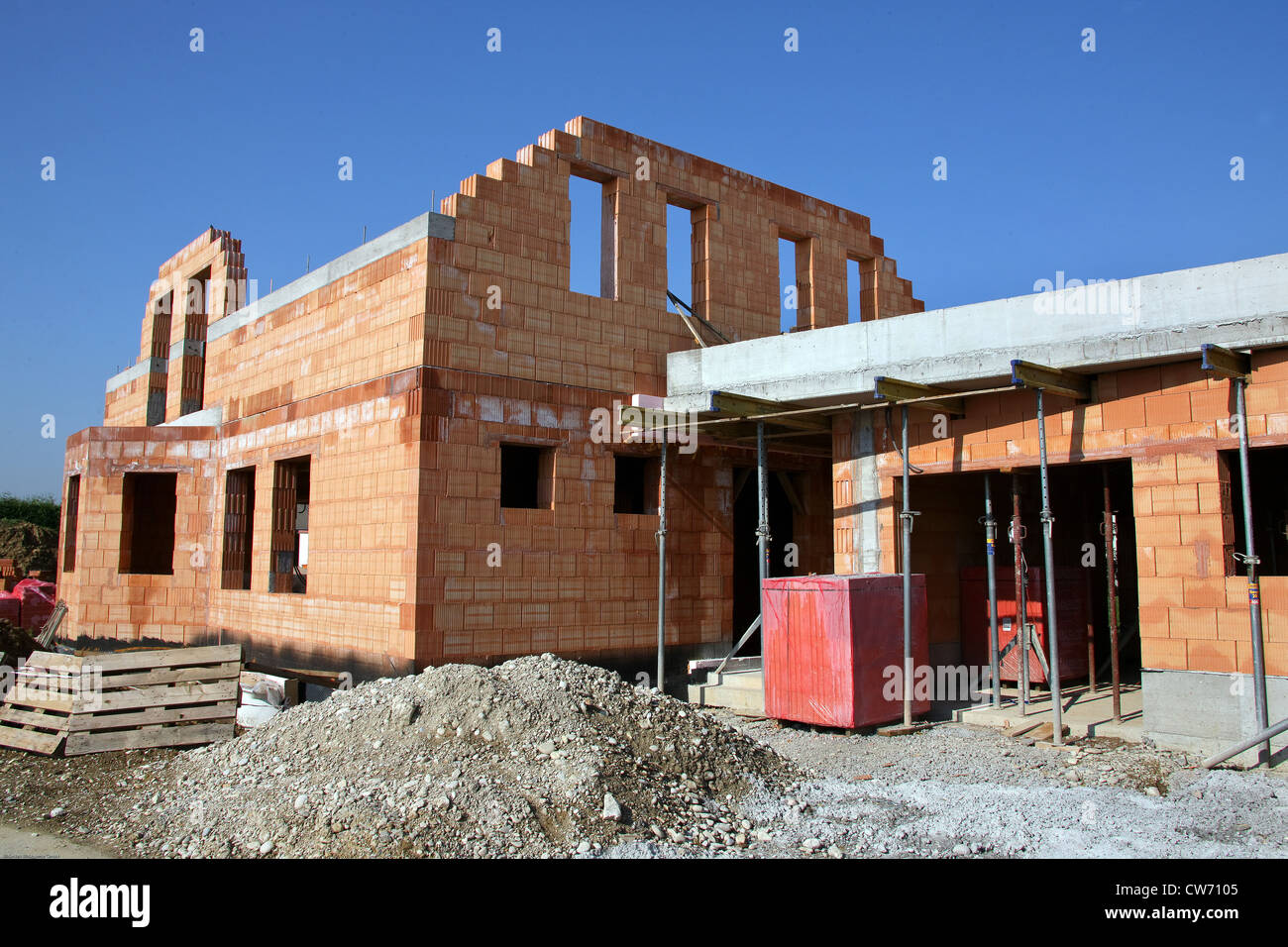brick house brick buildings stockfotos brick house brick buildings bilder alamy. Black Bedroom Furniture Sets. Home Design Ideas