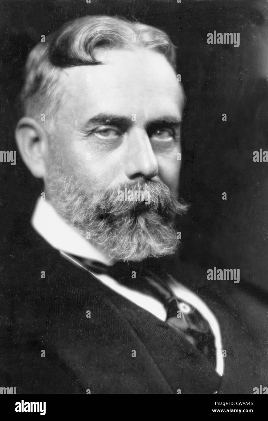 Sir Gilbert Parker (1862-1932), kanadischer Schriftsteller und Politiker, über die Geschichte und das Leben Stockbild