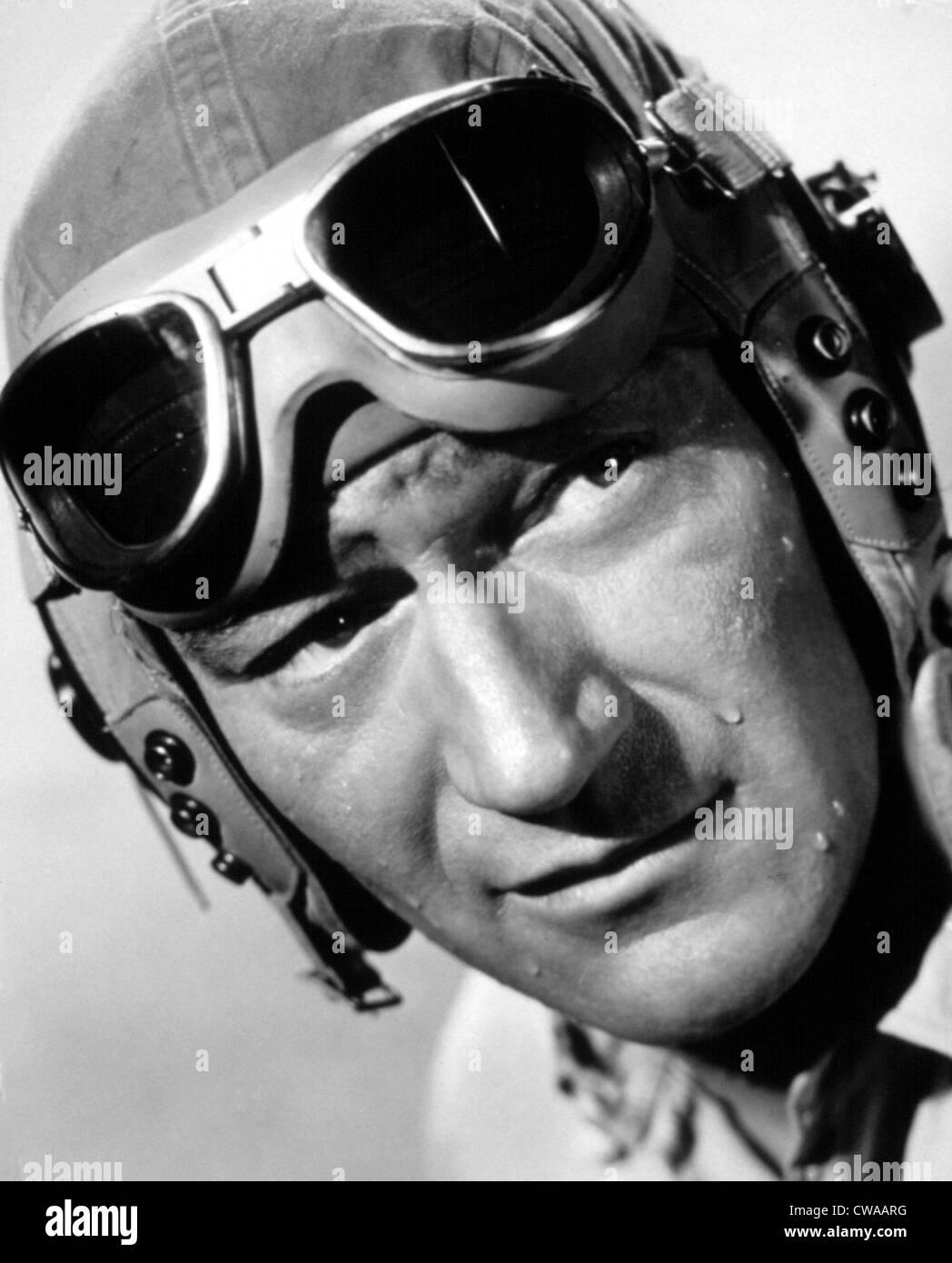 FLYING LEATHERNECKS, John Wayne, 1951. Höflichkeit: CSU Archive / Everett Collection Stockbild