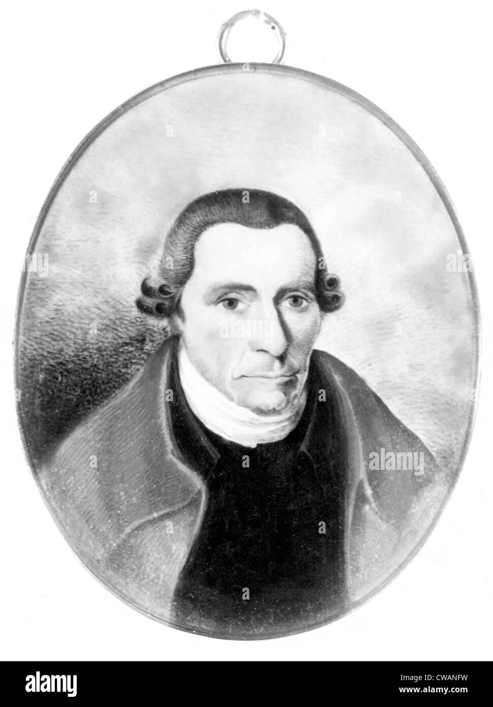 Patrick Henry, Portrait... Höflichkeit: CSU Archive / Everett Collection Stockbild