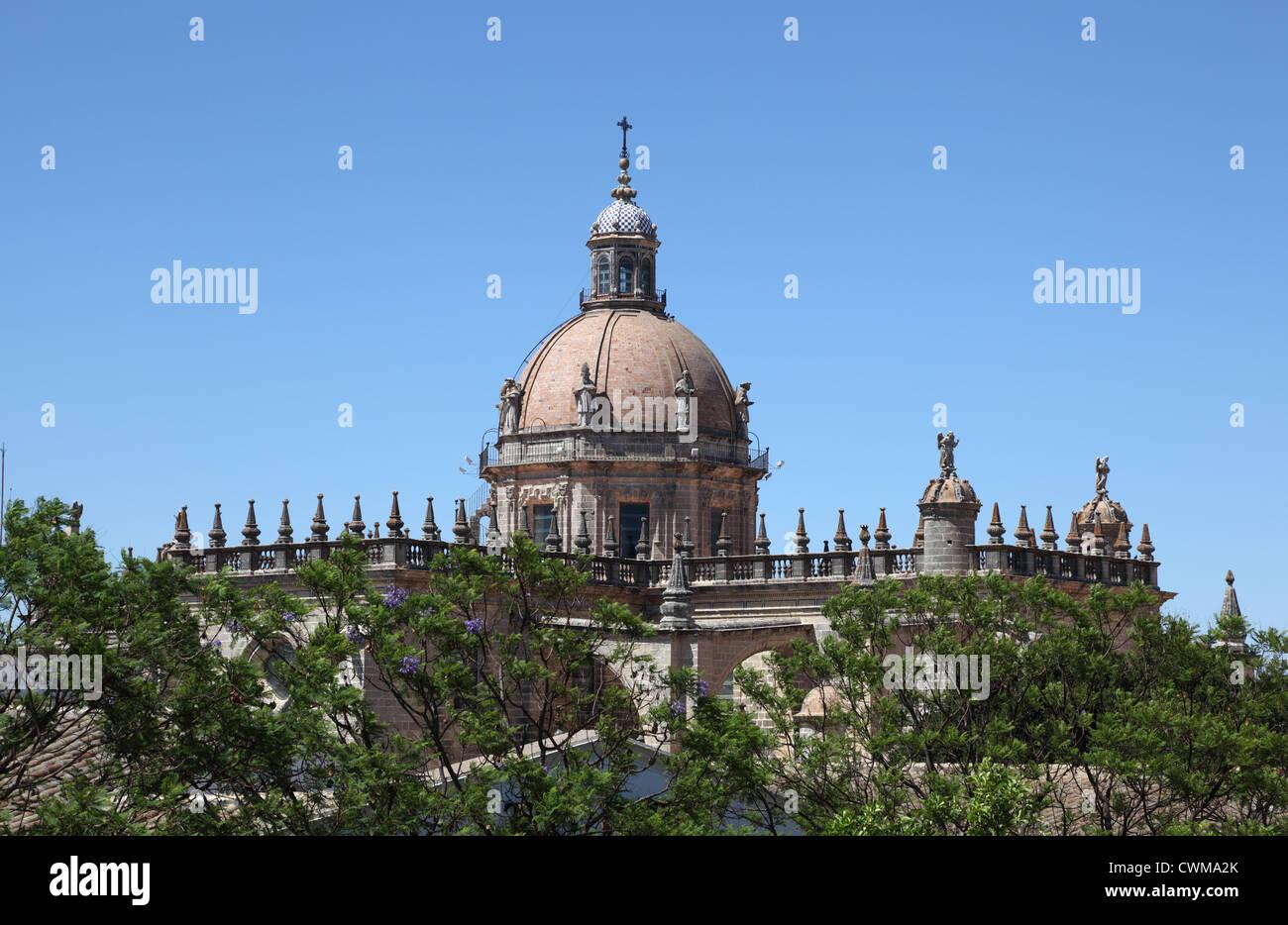 Die Kathedrale von San Salvador in Jerez De La Frontera, Andalusien Spanien Stockbild