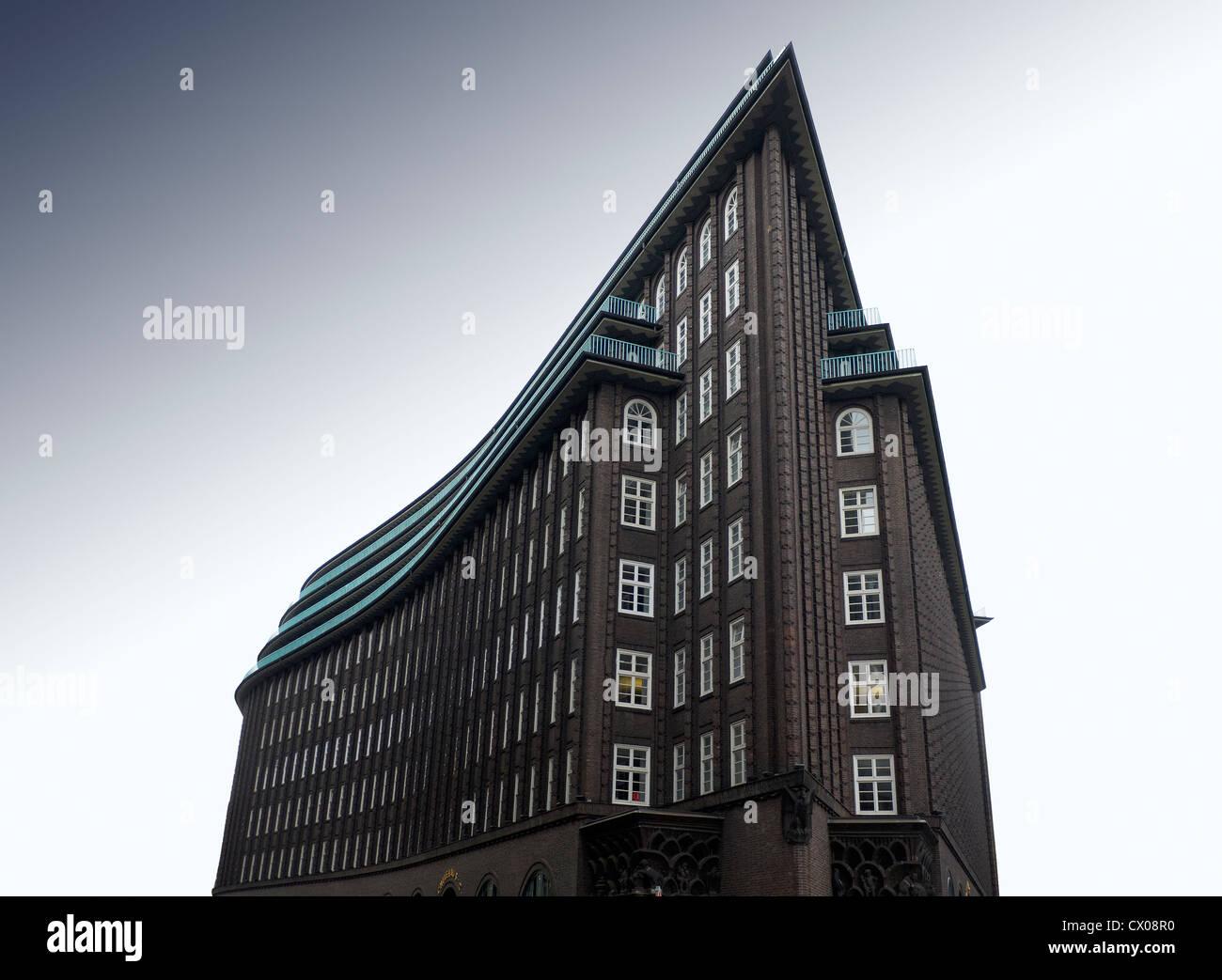 Expressionismus Architektur: Kontorhaus And Hamburg Stockfotos & Kontorhaus And Hamburg