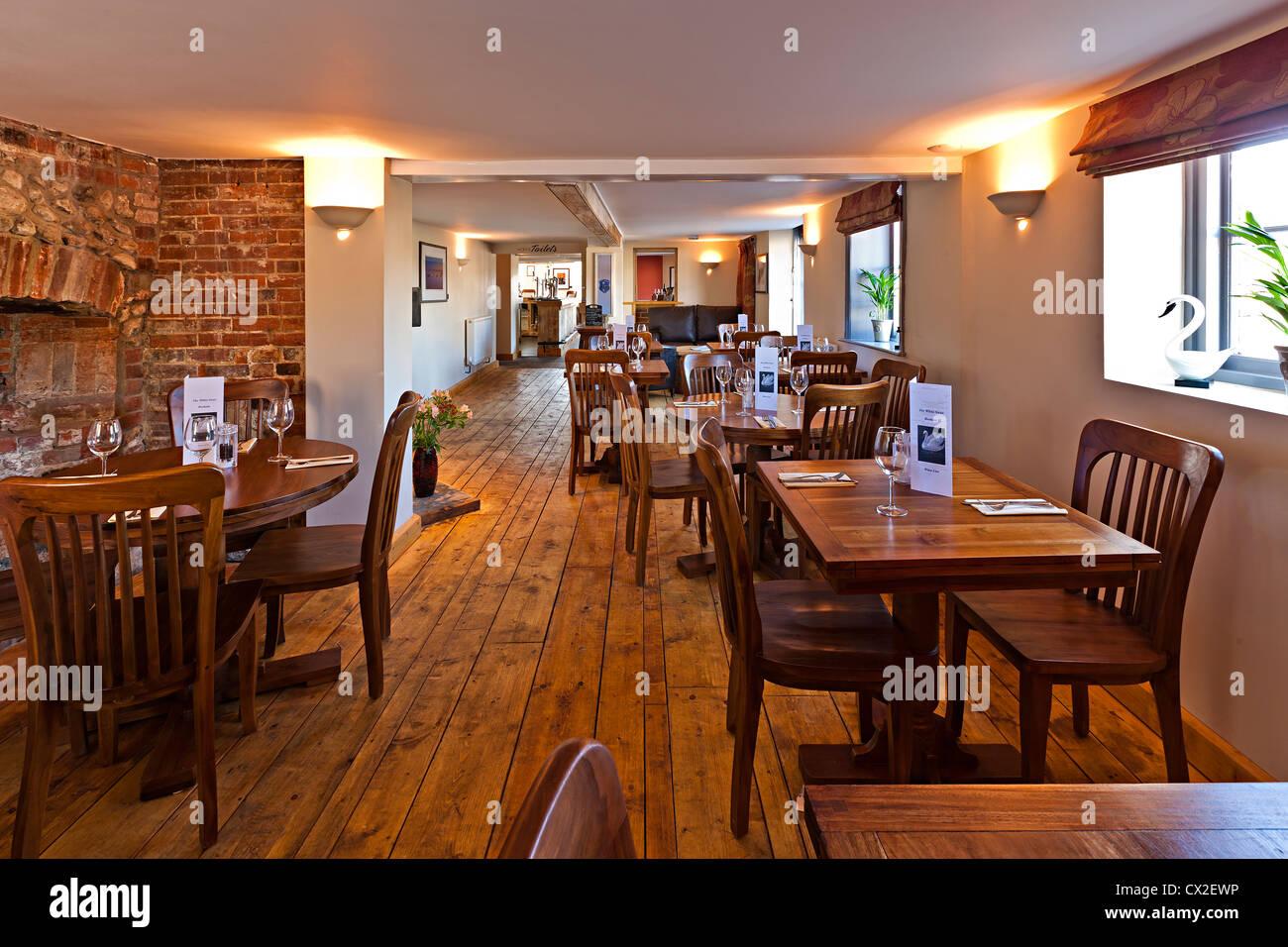 Englisches Pub Interieur Stockbild