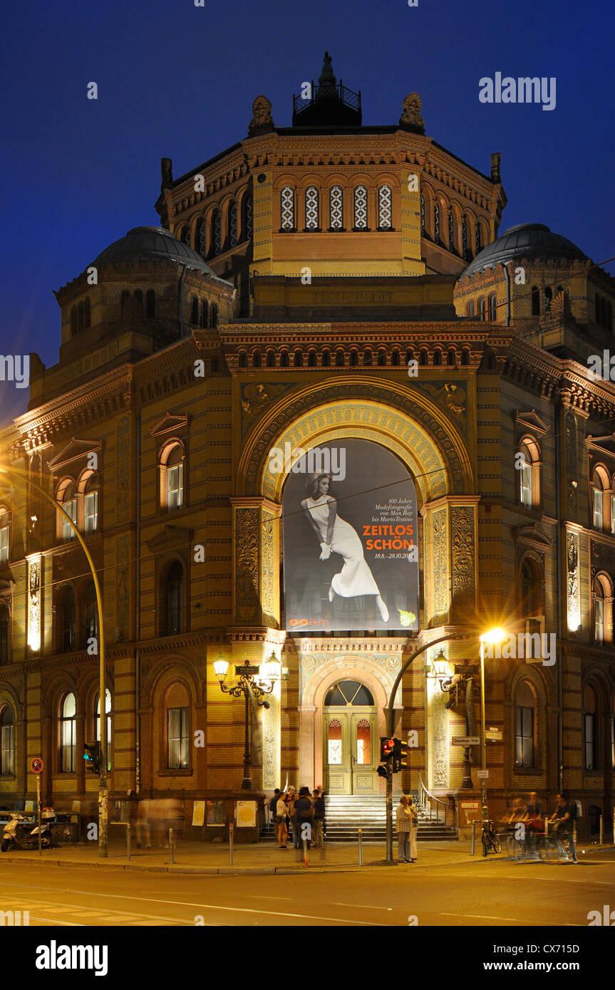 C/o BERLIN, Forum Für Fotografie, Postfuhramt, Veranstaltungsort für Fotoausstellungen, Oranienburger Stockbild