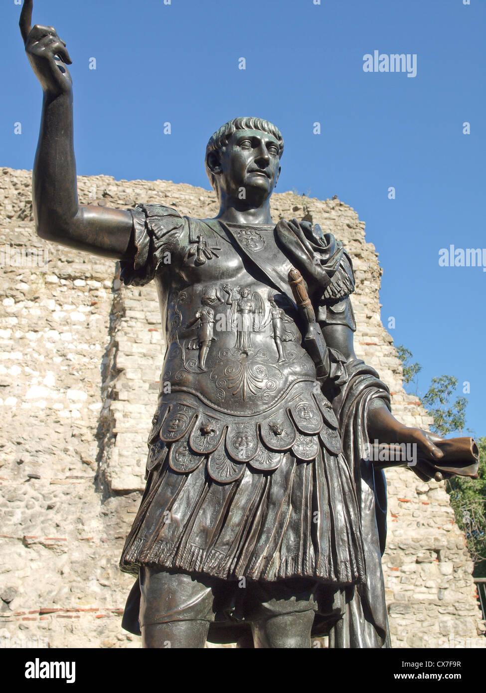 Römische Statue, London Stockbild