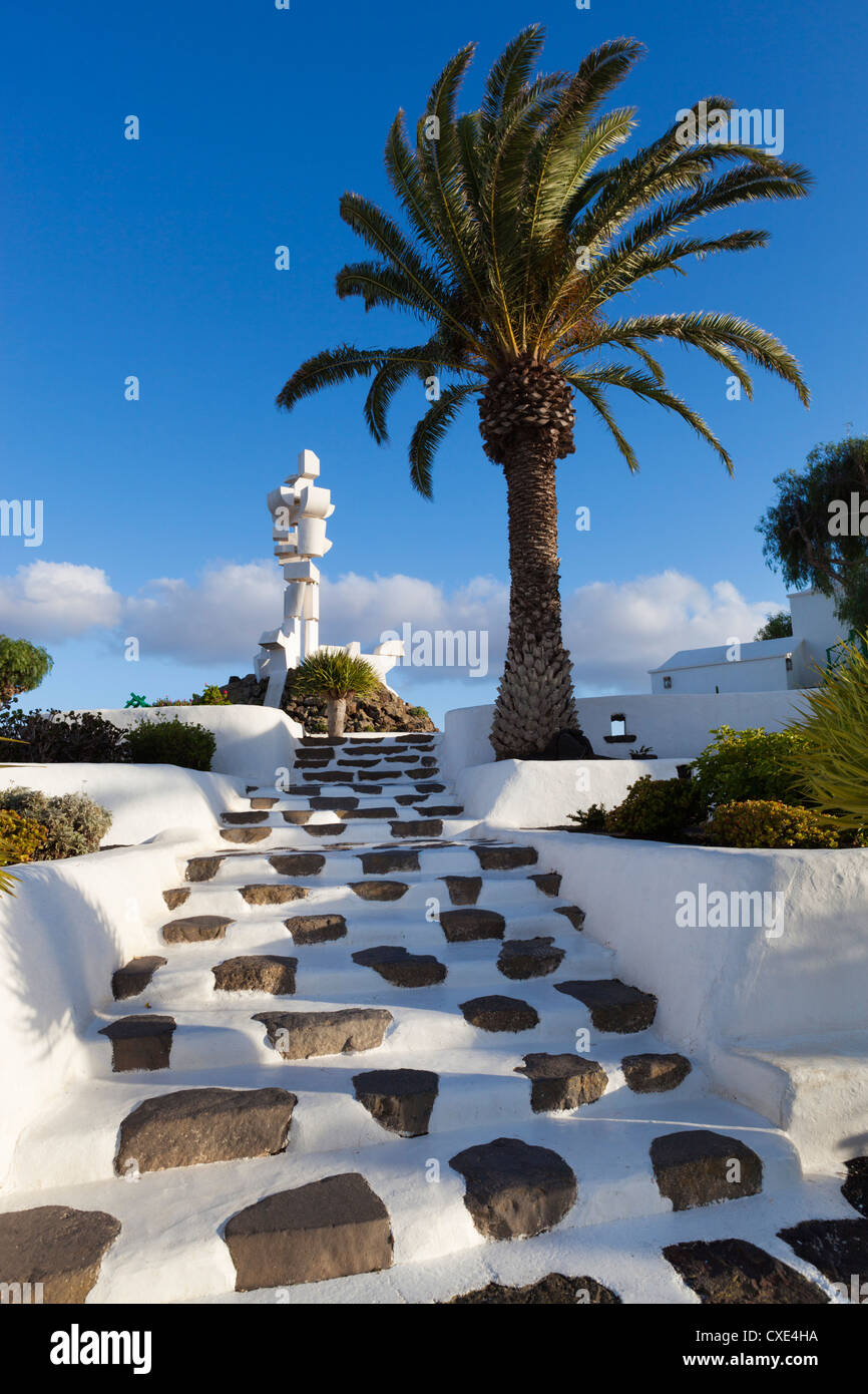 Monumento Al Campesino, La Casa Museo del Campesino, Mozaga, Lanzarote, Kanarische Inseln, Spanien Stockbild