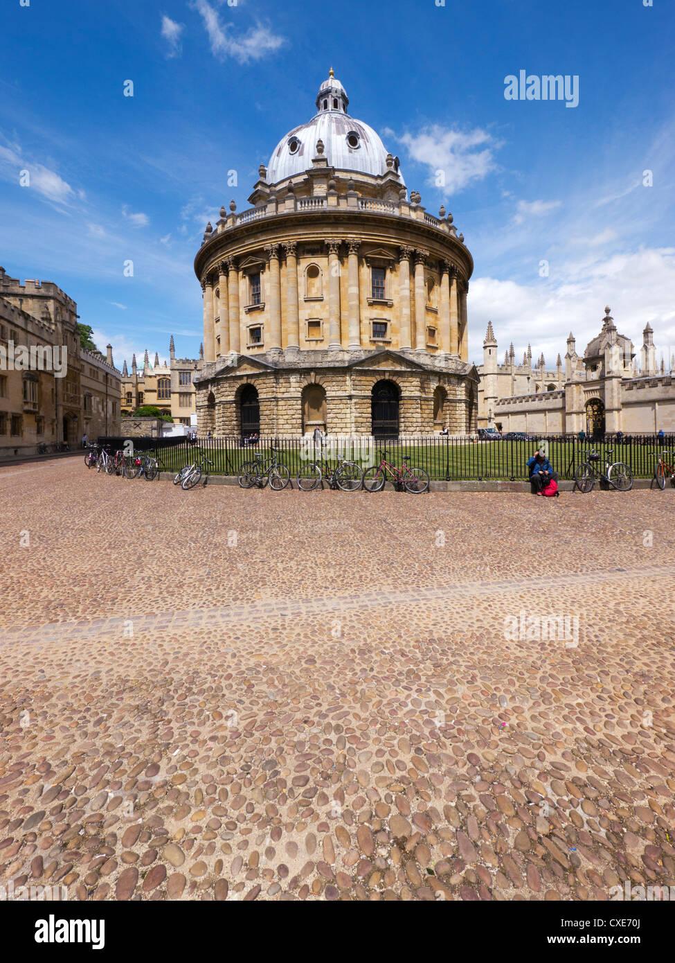 Radcliffe Kamera, Oxford, Oxfordshire, England, Vereinigtes Königreich Stockbild