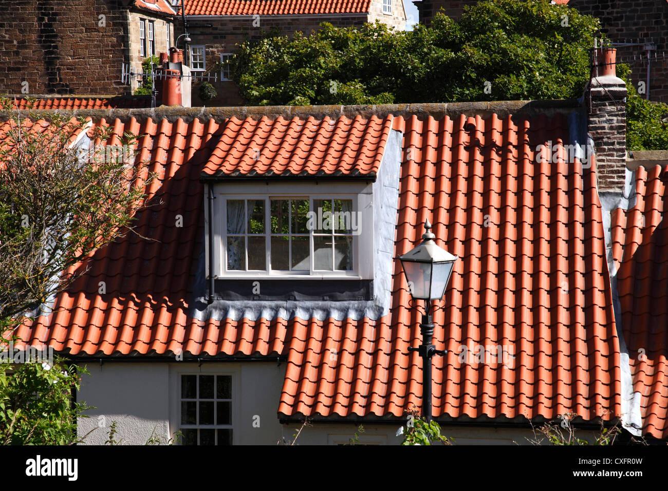 eine dachgaube auf ein haus in gro britannien stockfoto bild 50749129 alamy. Black Bedroom Furniture Sets. Home Design Ideas