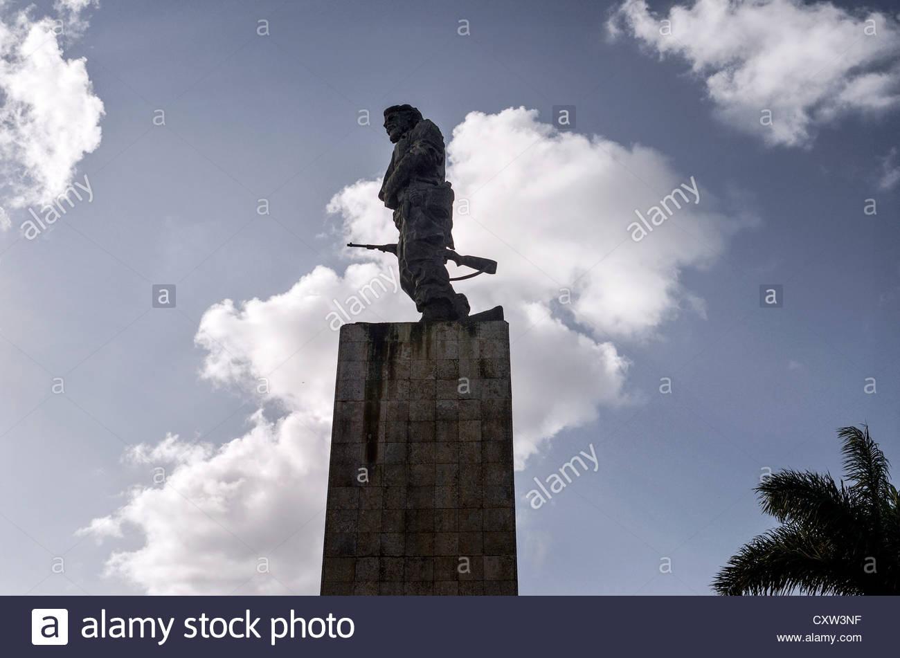 Statue von Che Guevara an der Che Guevara Mausoleum, Santa Clara, Kuba Stockbild