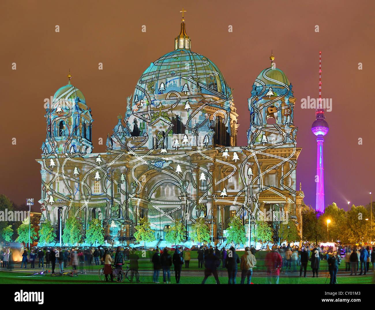 Festival of Lights Berlin 2012 Stockbild