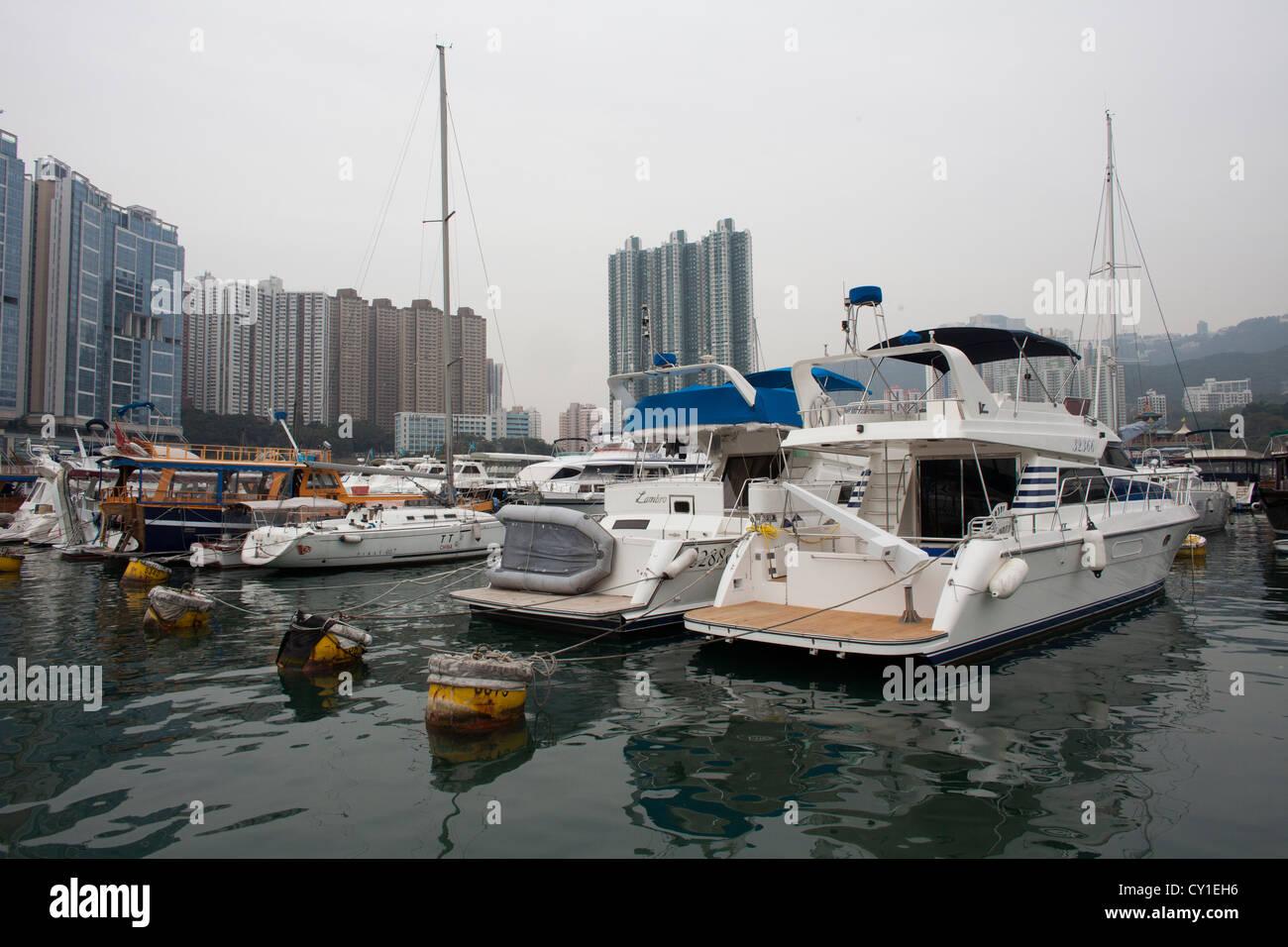 Metropole städtische Zentrum Stadt Hongkong Chinesisch Stockbild