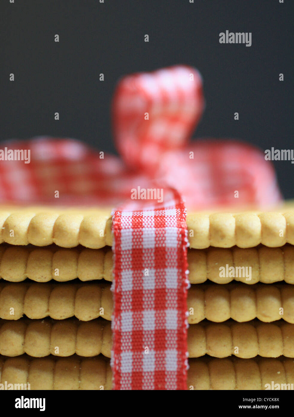 Shortbread Stockfoto