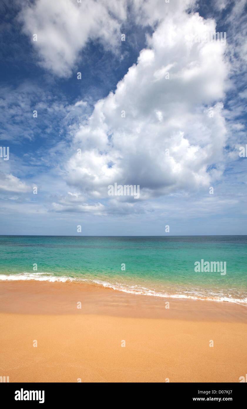 Strand-Landschaft Stockbild