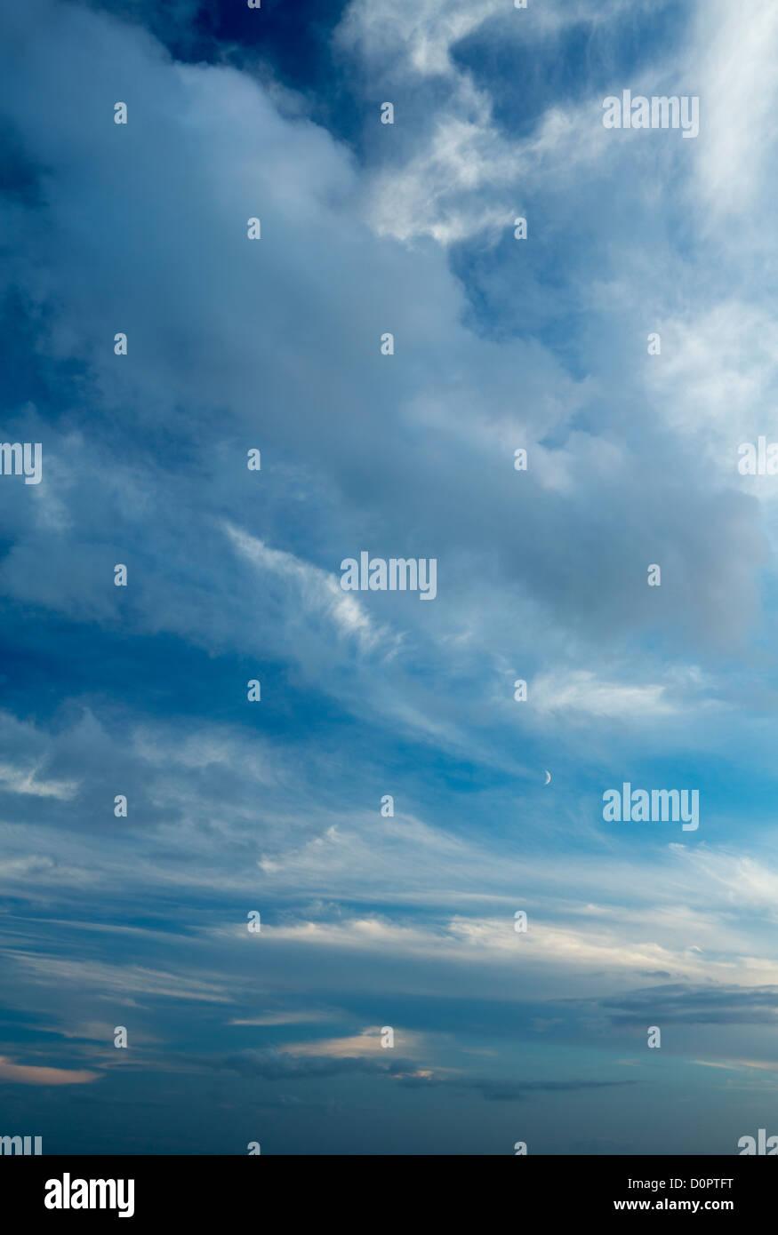 Himmel, Somerset, England, UK Stockbild