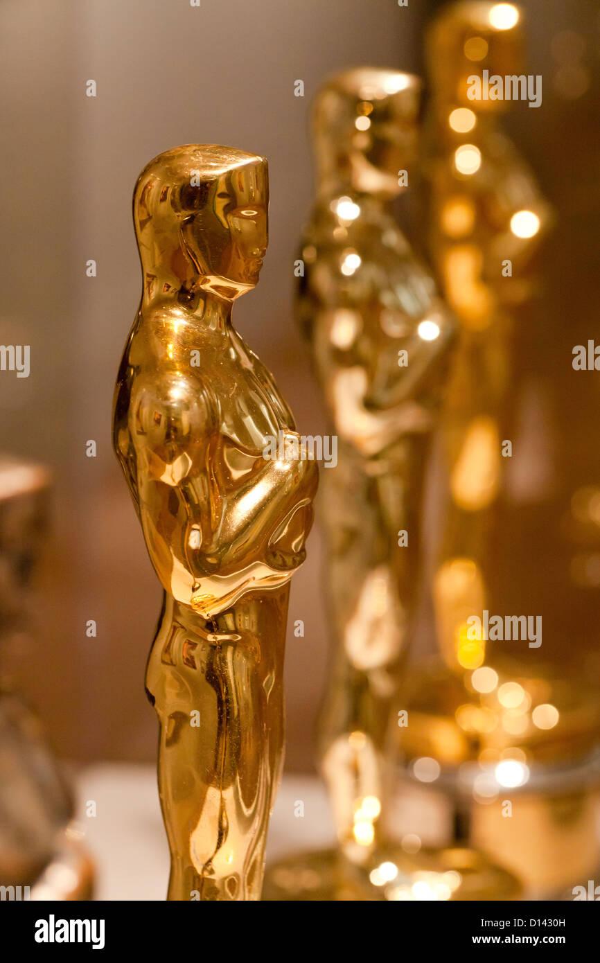 Die Academy Awards Oscar-Statuette - USA Stockbild