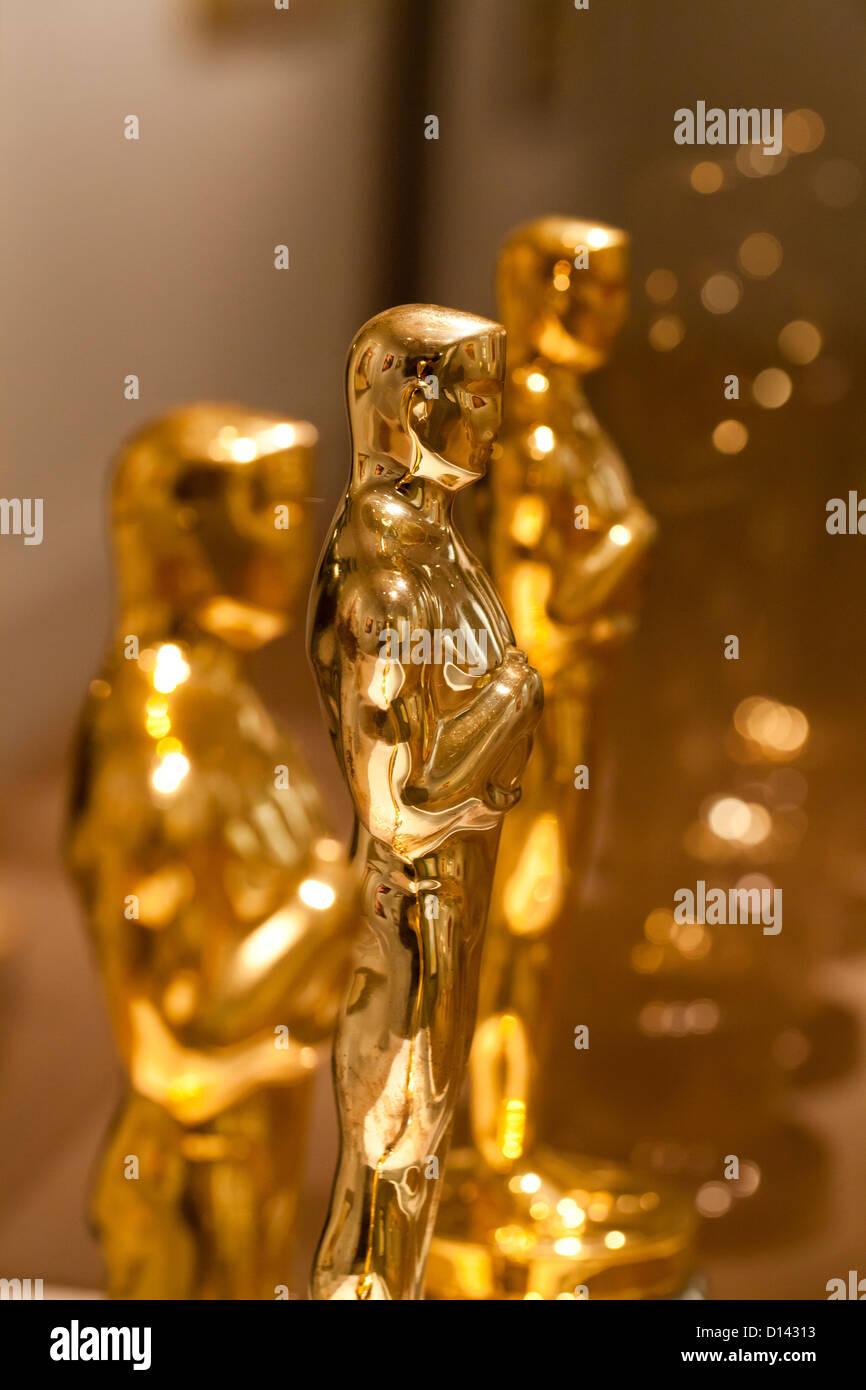 Die Academy Awards Oscar-statuette Stockbild