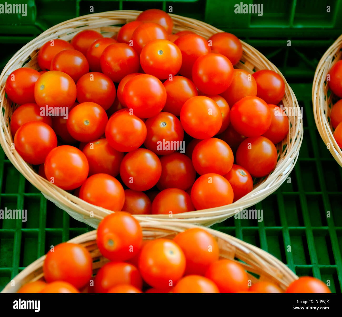Cherry-Tomaten Stockbild