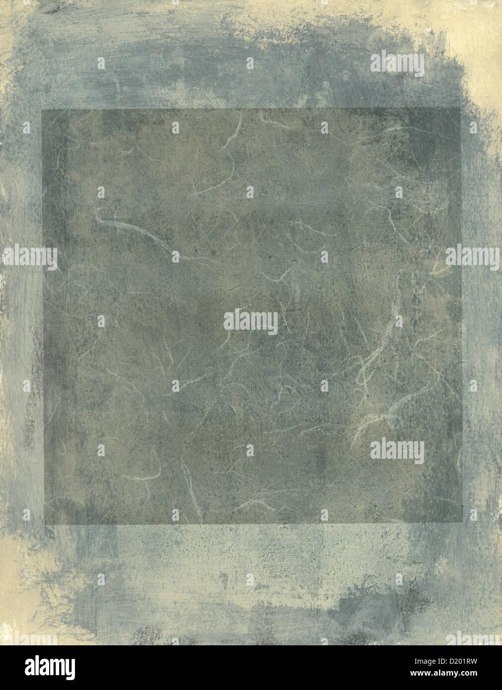 Abstrakte Malerei grauen Tönen und Quare. Stockbild