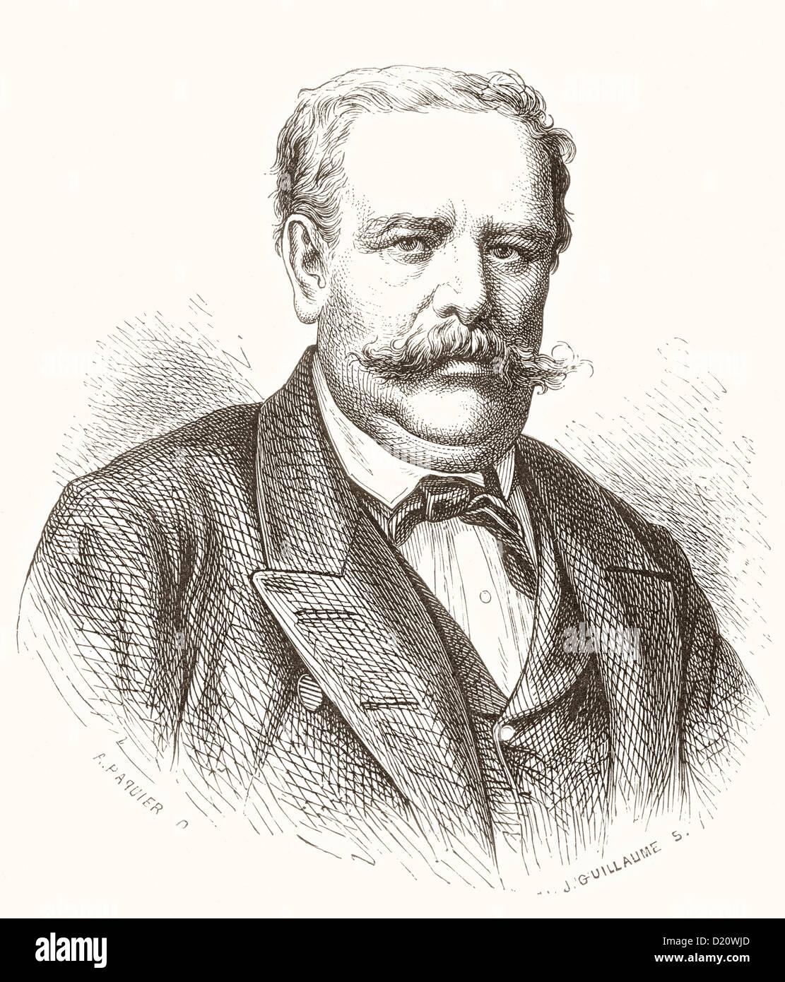 Moritz von Schwind, 1804-1871. Österreichische Künstler. Stockbild
