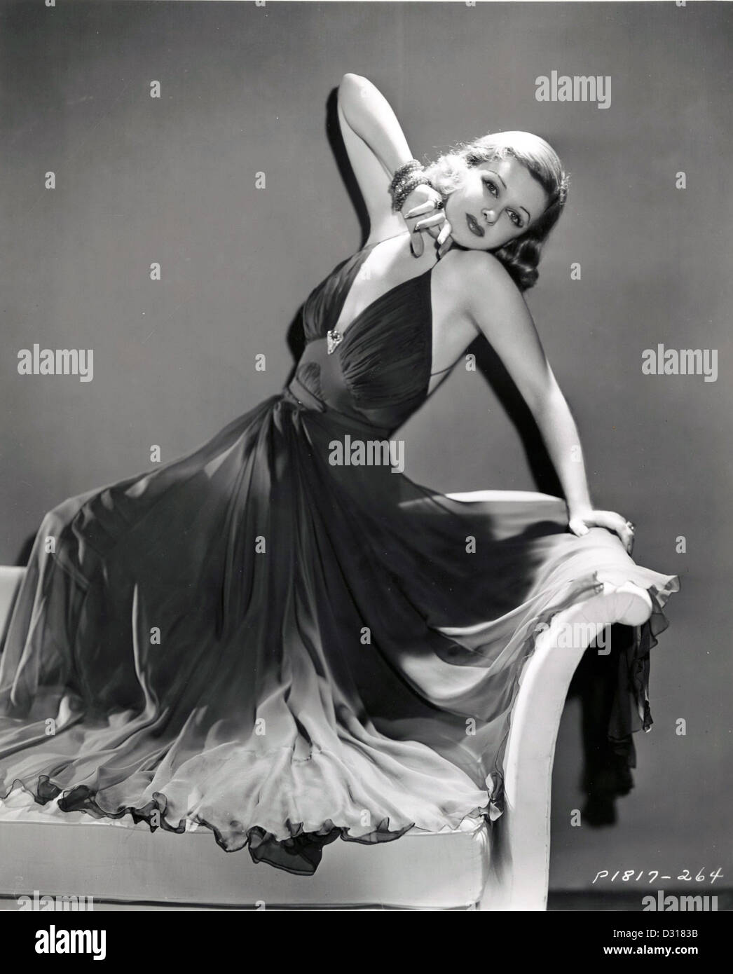Joan Bennett Stockbild