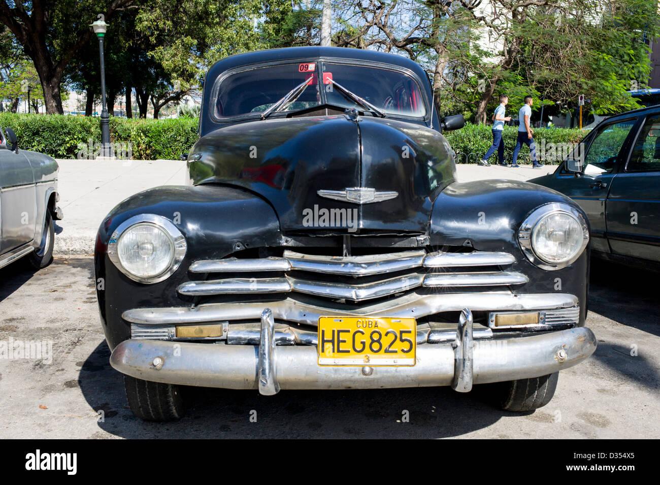 old 1950s cars havana cuba stockfotos old 1950s cars havana cuba bilder alamy. Black Bedroom Furniture Sets. Home Design Ideas