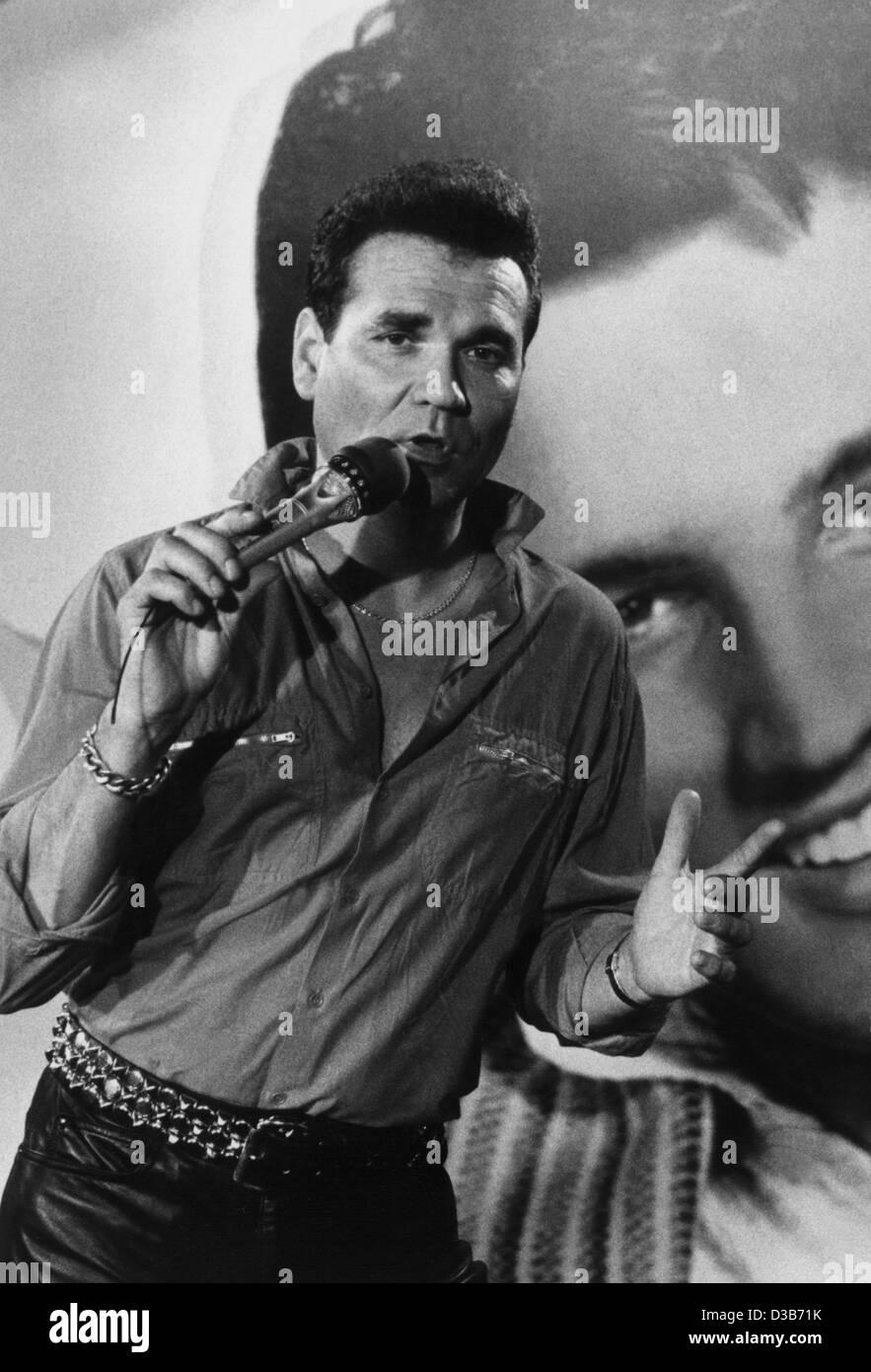 Dpa Dateien Deutscher Rock N Roll Legende Ted Herold Vor