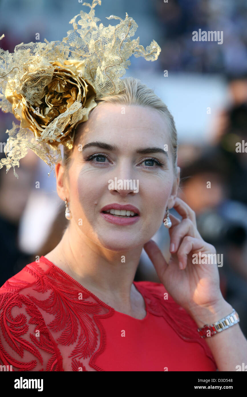 Hong Kong, China, Kate Winslet, Schauspielerin Stockbild