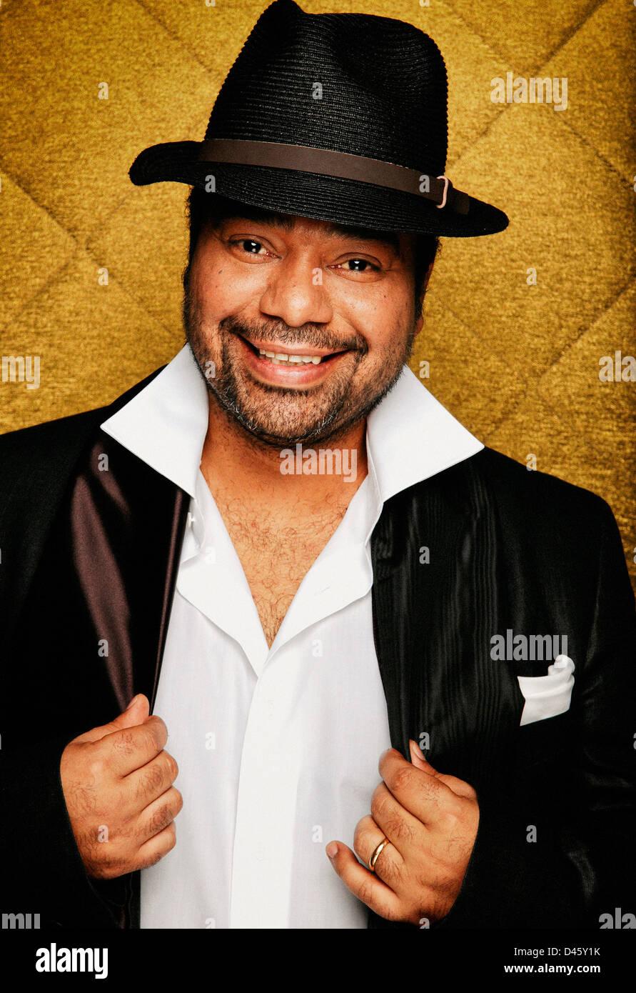 Paulo Flores angolanischen Berühmtheit Sänger Stockbild