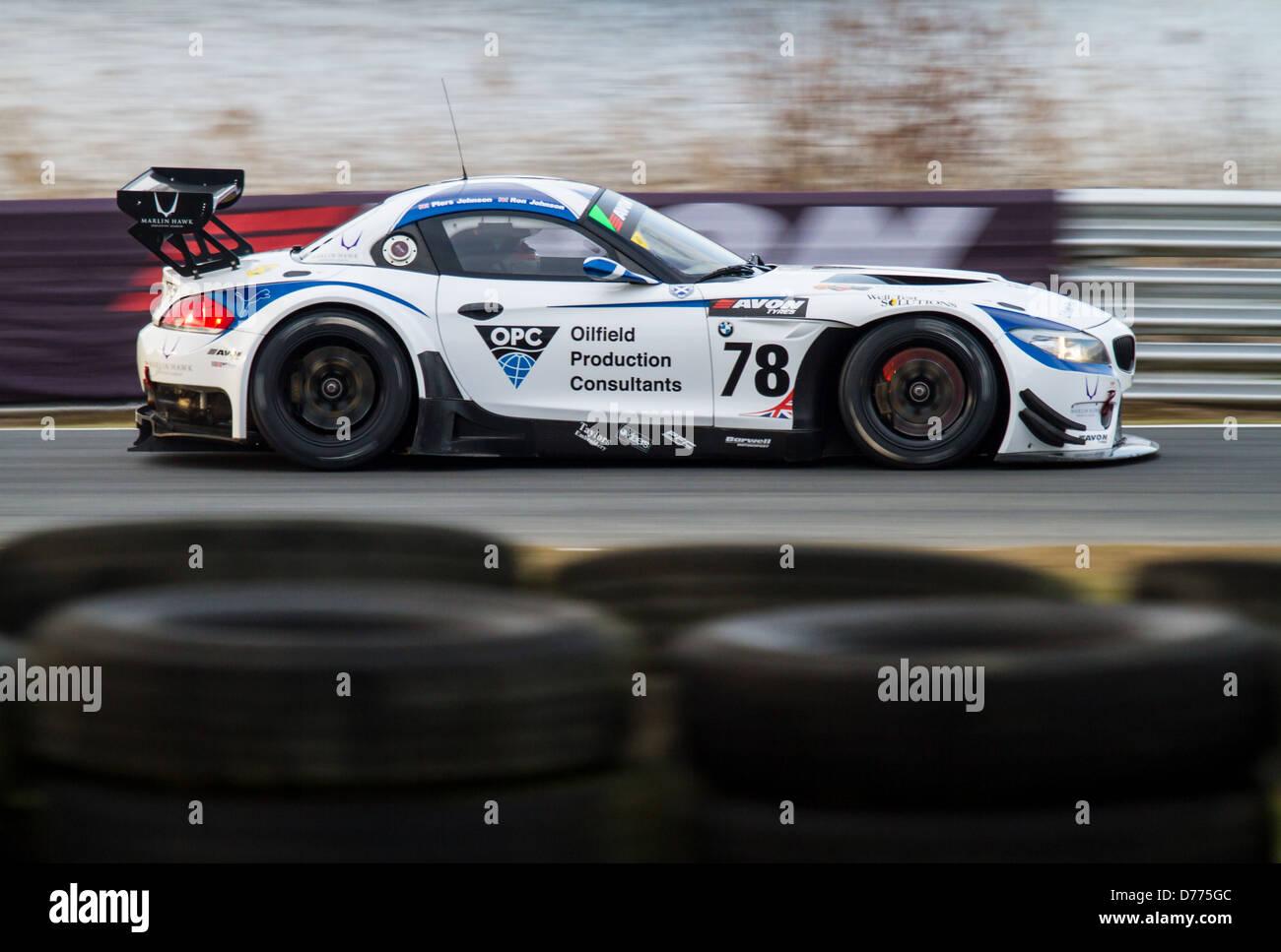Barwell Motorsport bmw Stockbild