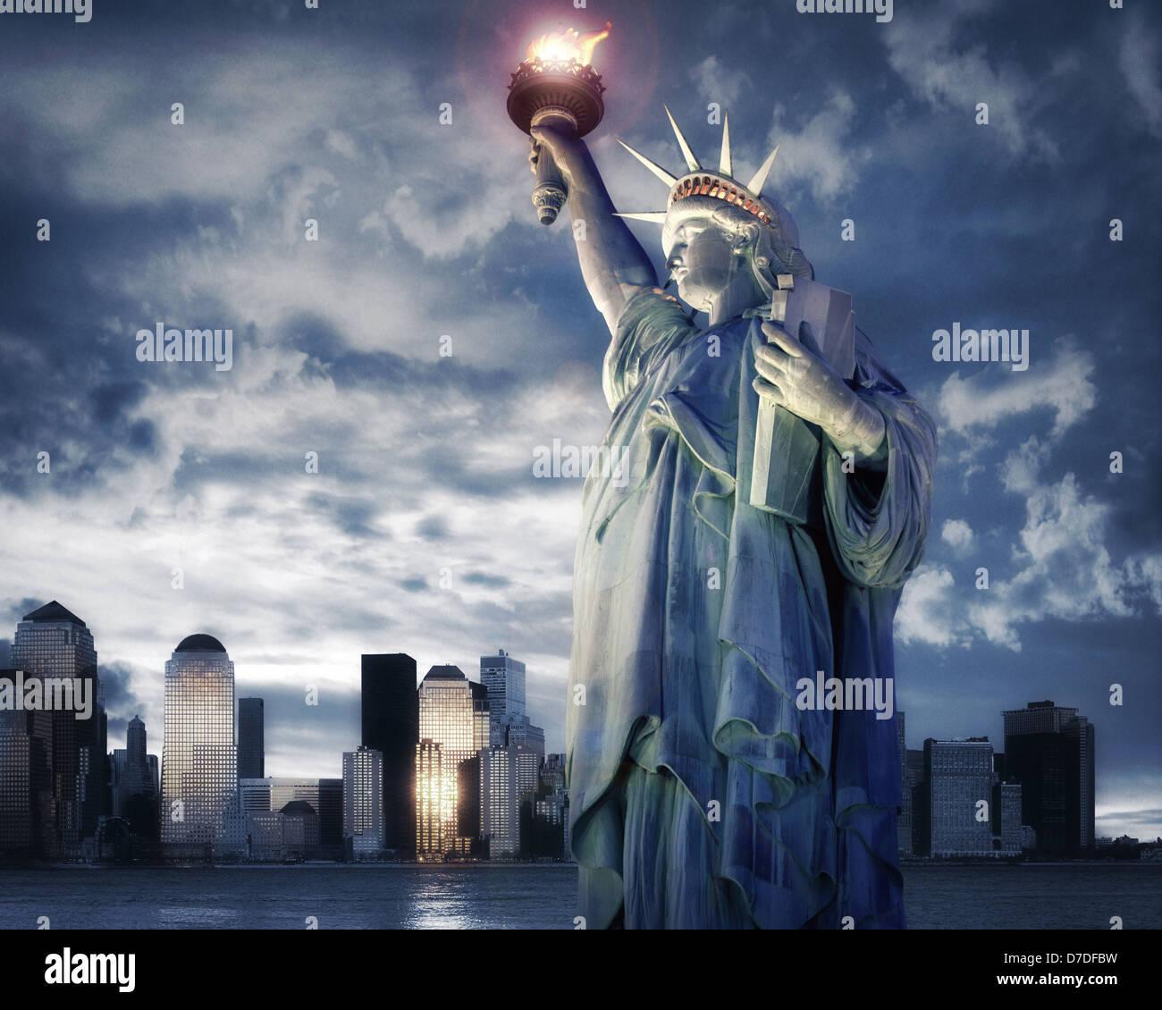 USA - NEW YORK: Reisekonzept Stockbild