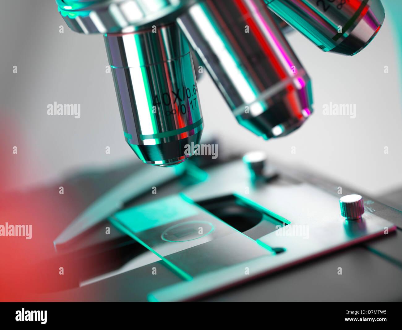 Lichtmikroskop Stockbild