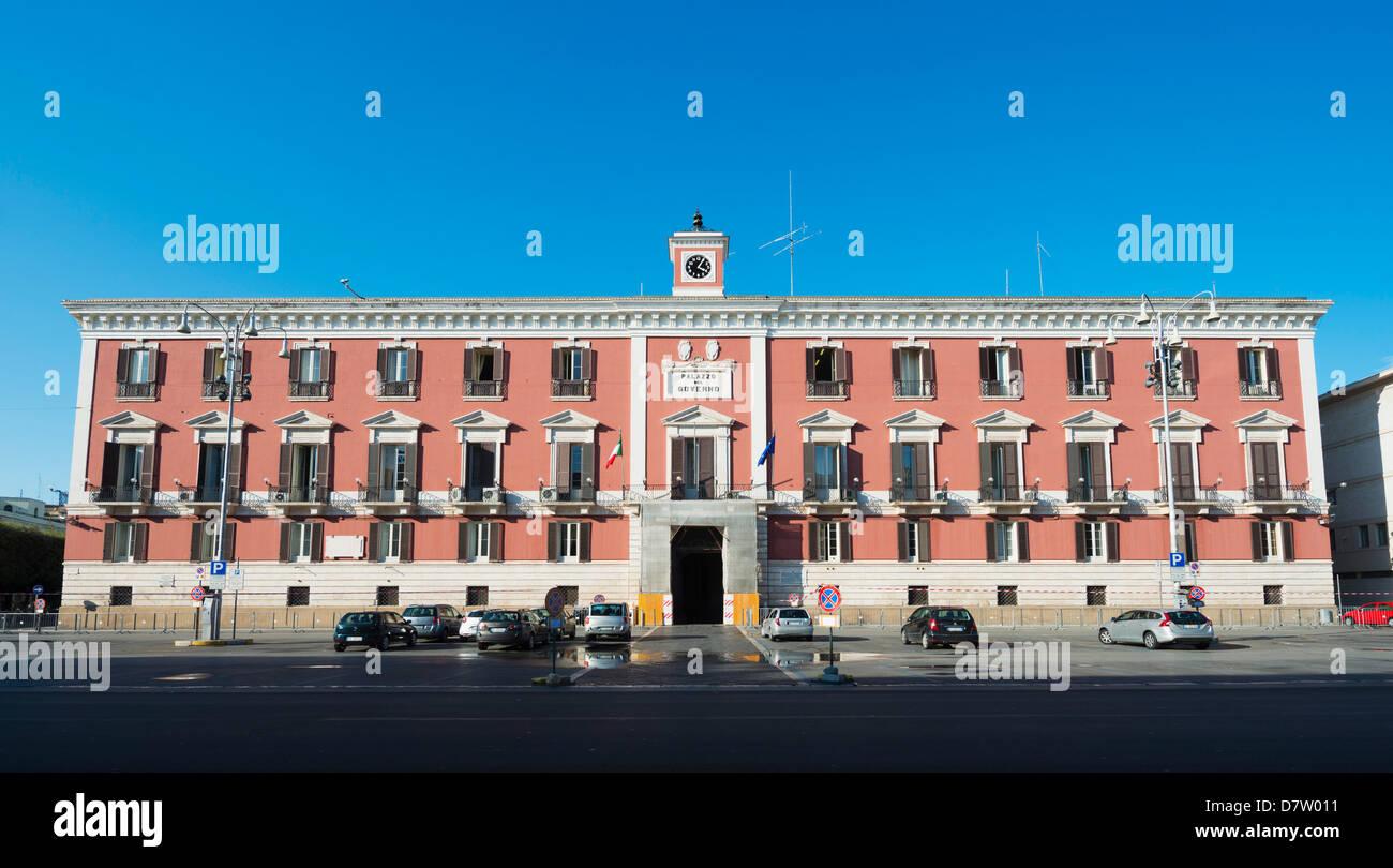 Palazzo del Governo, Bari, Apulien, Italien Stockbild