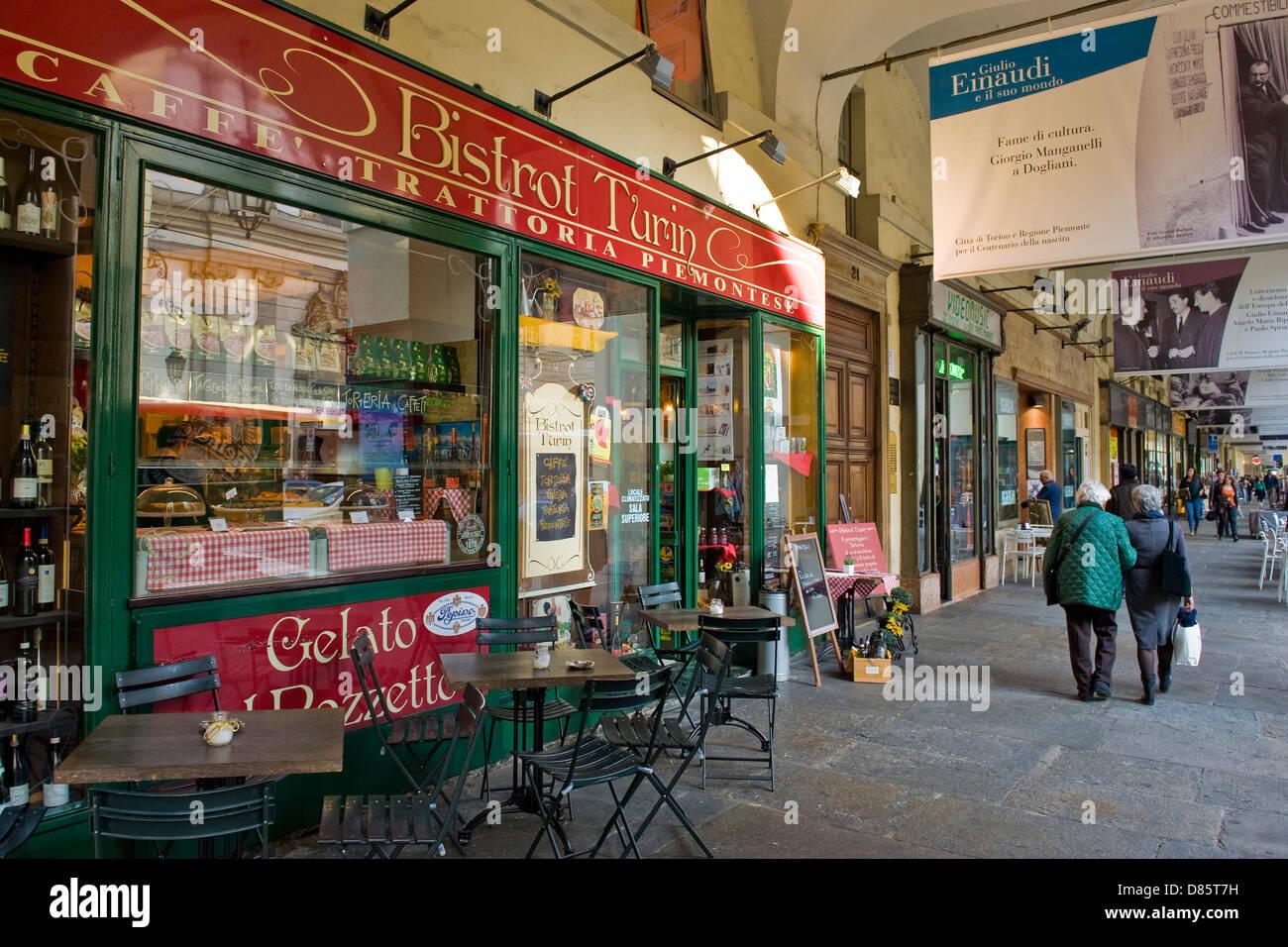 Italien-Piemont-Turin-Alltag Stockbild