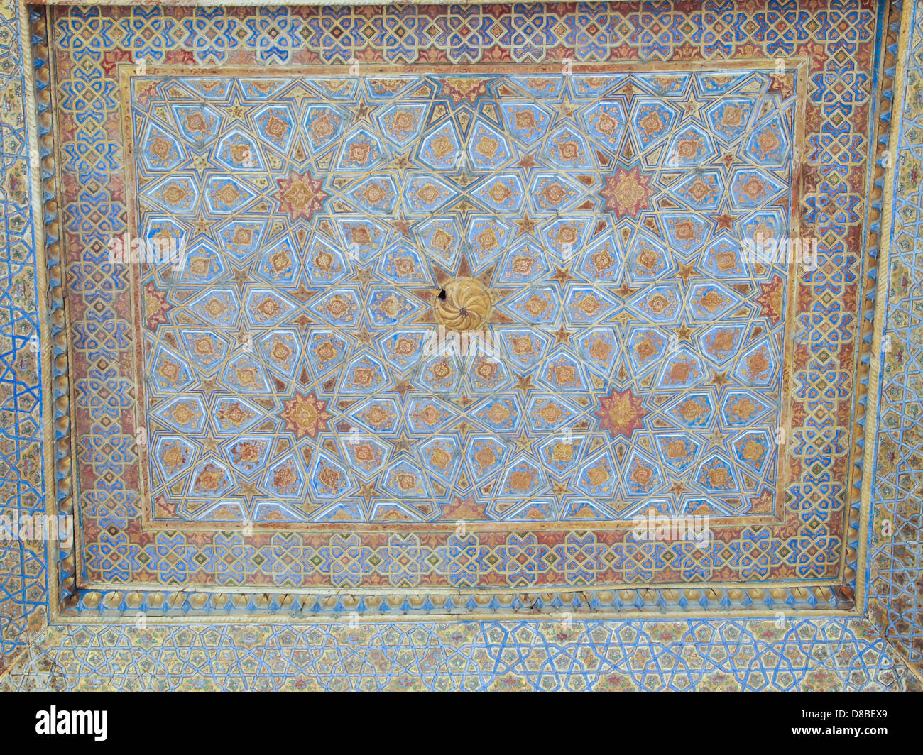 Chehel Sotoun Iran Isfahan Palace Stockfotos Chehel