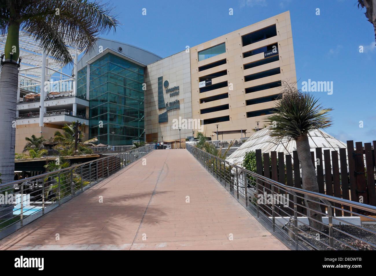 shopping centre gran canaria stockfotos shopping centre gran canaria bilder alamy. Black Bedroom Furniture Sets. Home Design Ideas